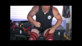 How To Wrap A Knee Wrap Kiwi-strength.com
