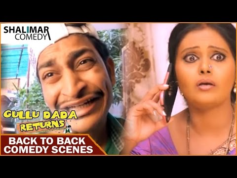 Dubai Return Hyderabadi Movie || Back to Back Comedy Scenes || Adnan Sajid Khan, Aziz Naservia