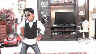 7 year old Sachin doing gangnam style