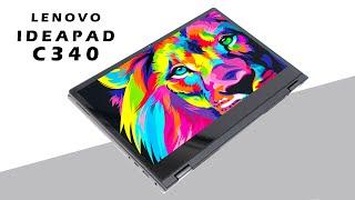 Trên tay Lenovo ideapad C340: Laptop Gọn nhẹ, Xoay 360 độ, màn hình cảm ứng, giá từ 15.4 triệu
