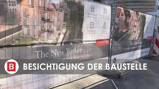 The New Yorker Wiesbaden - Besichtigung nach Baubeginn!