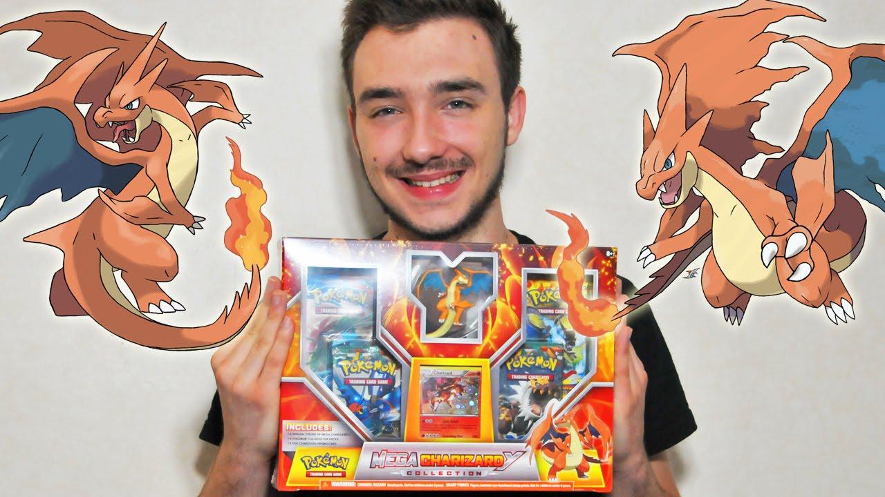 Ouverture Dun Coffret Pokémon Mega Dracaufeu Y Mega Pokemon Invasion