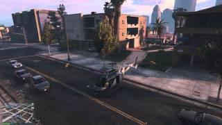 GTA5 Online(PC) воруем истребители