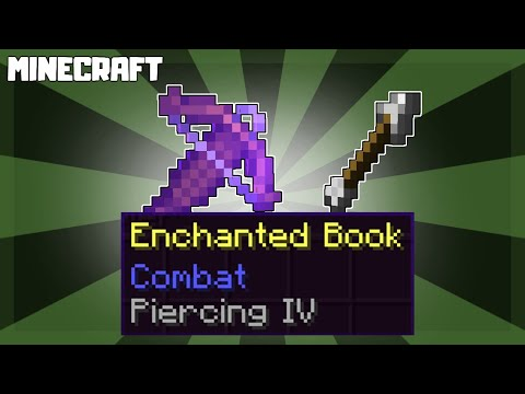 What Does PIERCING Enchantment Do in Minecraft?