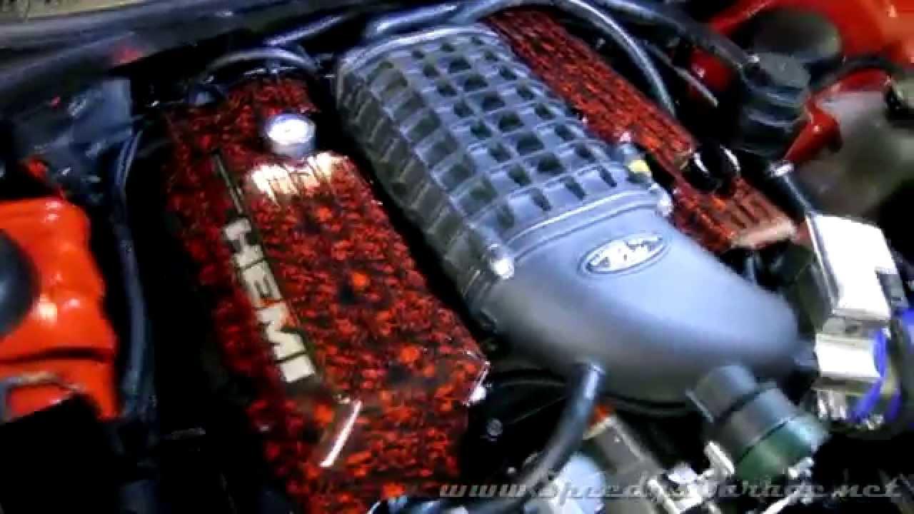 challenger 392 hemi engine cover mod [ 1280 x 720 Pixel ]