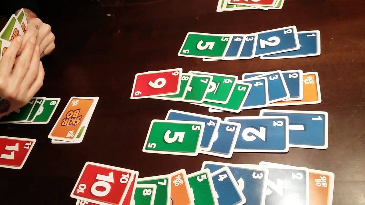 skip bo castaway caper kartenspiele