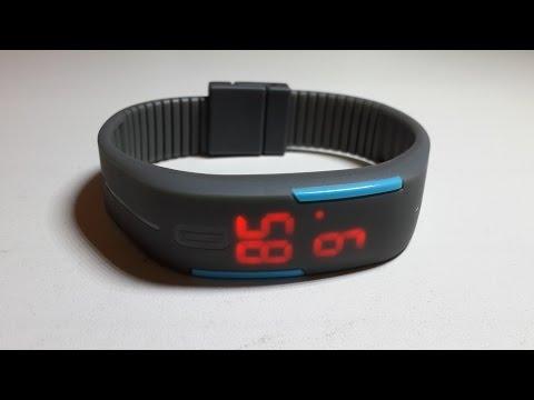 Led часы спортивные светодиодные водонепроницаемые Led Watch With Silicone Strap  2