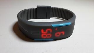 Led часы спортивные светодиодные водонепроницаемые led watch with silicone strap  2(, 2015-06-25T19:21:11.000Z)
