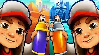 Subway Surfers Cairo VS Chicago Gameplay for Children HD