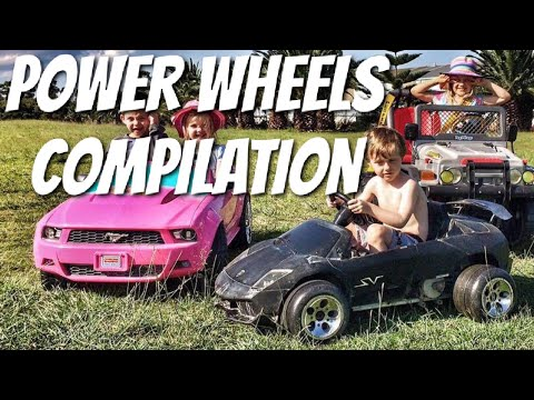 Our modified power wheels compilation.Best electric cars for kids 2017.Modified Power Wheels.