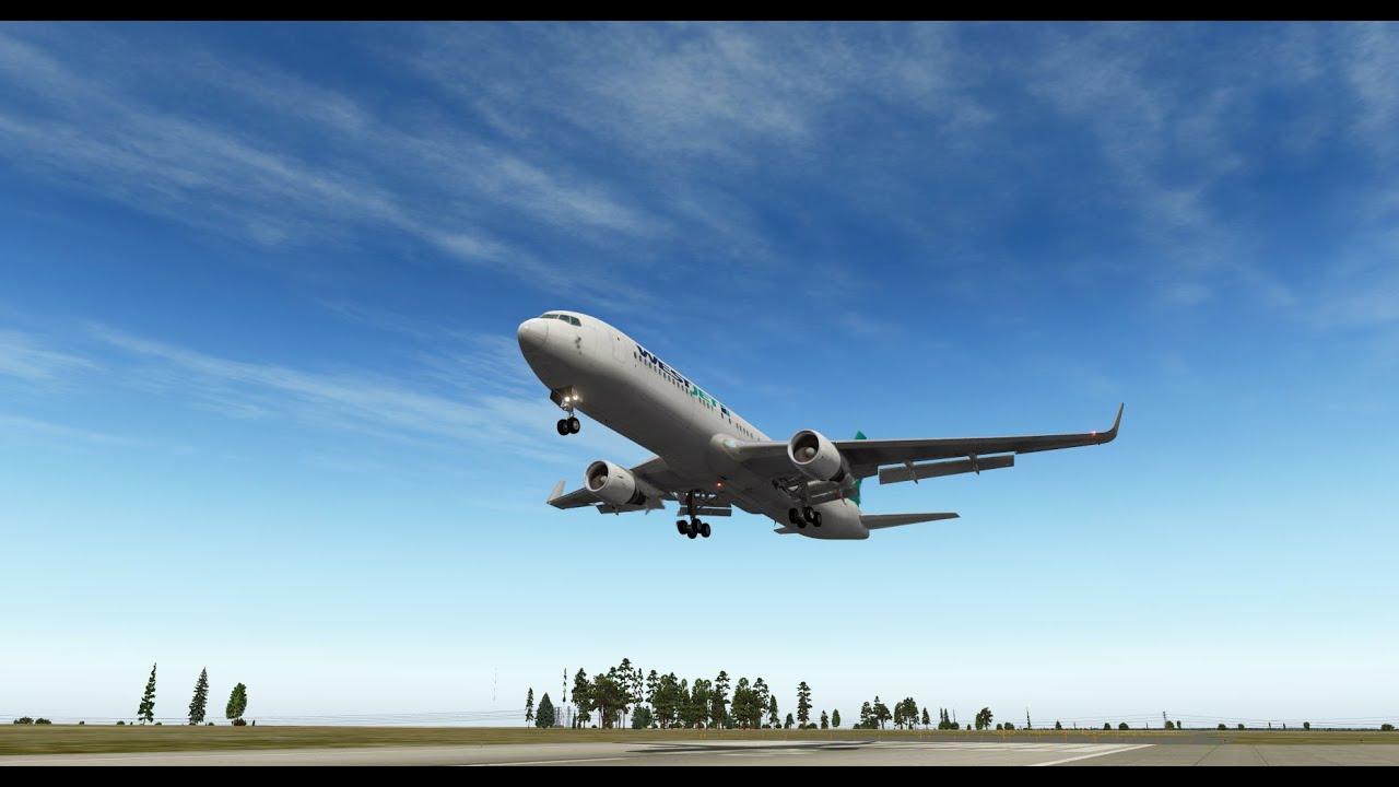 X-Plane - Heavy Turbulence Above Germany - YouTube