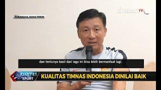 Timnas Tiongkok Akui Kualitas Timnas Indonesia Baik