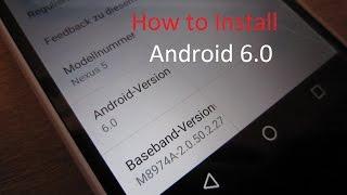 Android 6.0 Marshmallow Installieren ? So gehts! Nexus 5/6/9 u