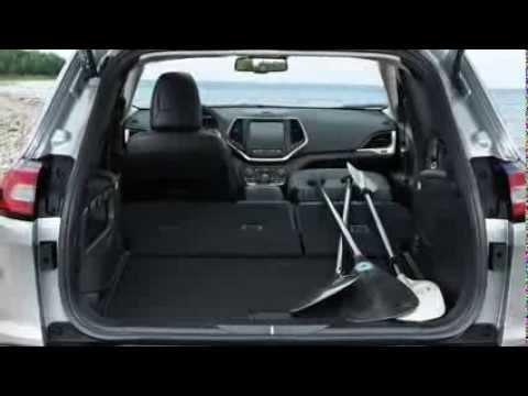Jeep Cherokee Fold Flat Front Passenger Seat - YouTube