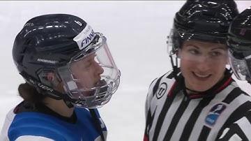 Naisten Jääkiekon MM 2019 finaali - Osa tuomarisekoilu