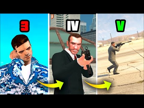 Working as a HITMAN «2» in GTA GAMES! (Evolution) |