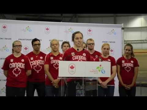 TO2015 Pan Am Games Canadian Cycling Team Unveiled