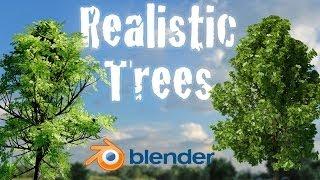 Crear Realistas Animados De Árboles De Principiante Blender Tutorial