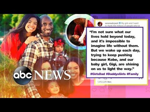 Kobe Bryant's wife shares tribute on Instagram l ABC News