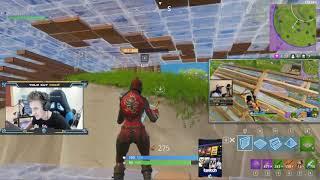 Fortnite - Daequan vs Ninja - Beide Perspektiven