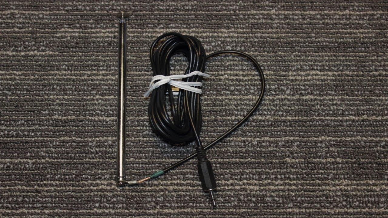 DIY 3.5 mm Jack FM antenna with coax for TEA5767 FM module ...