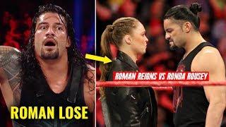 Roman Reigns DEFEATED By Ronda Rousey Says Roman ! Bobby Lashley UFC ! Sasha Vs WWE