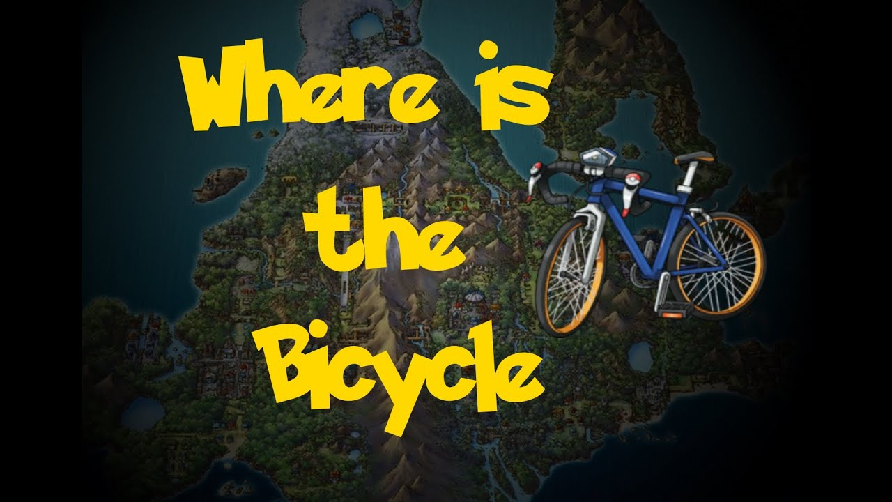 where is the bicycle pokemon diamond pearl platinum youtube