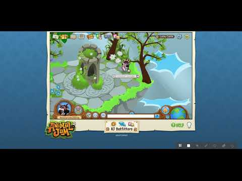 do not visit the lucky castle at 3 am ll animaljam (almost hacked)
