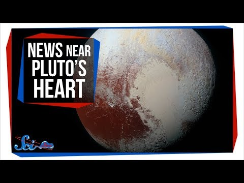 The Mysterious Ridges Near Pluto's Heart