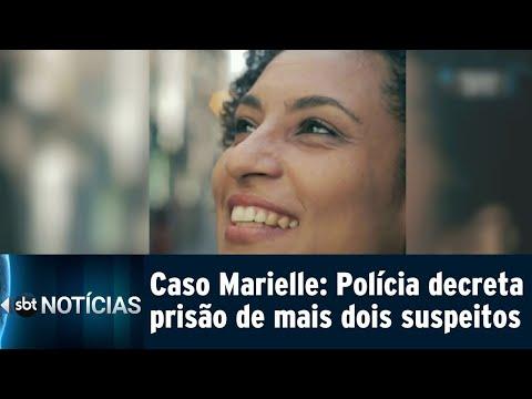 Polícia decreta prisão de novos suspeitos da morte de Marielle Franco | SBT Notícias (27/07/18)