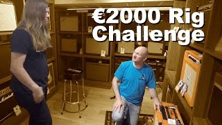 €2000 Rig Challenge - Robert Baker and HP42 in the candy store!