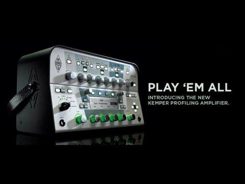 Kemper Profiling Amp - NAMM 2013: Product Showcase