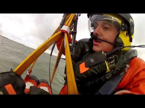 SAR helicopter wet winching training Nov 2015