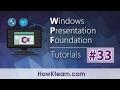 [Khóa học lập trình WPF] - Bài 33: Trigger| HowKteam