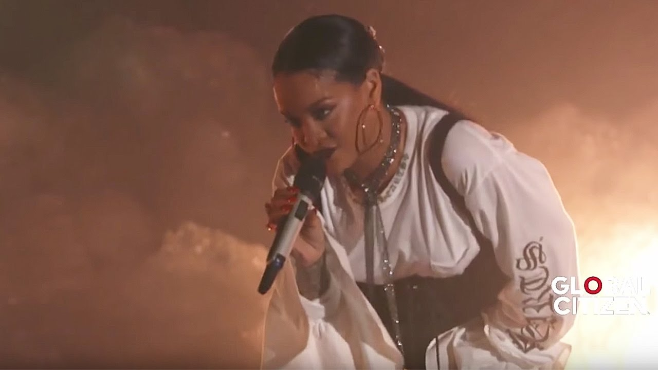 Download Rihanna FourFiveSeconds | Live at Global Citizen Festival 2016