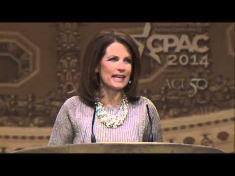 Bachmann Takes Aim at Hillary Clinton at CPAC
