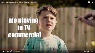 Как я снимался в рекламе / I took part in a commercial