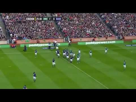 2010 Six Nations Ireland Vs Scotland 1st Half