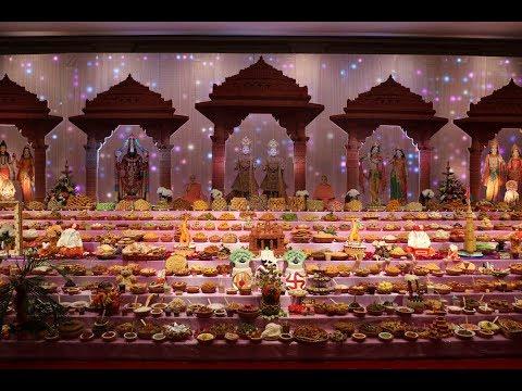 Diwali and Annakut Celebrations, Abu Dhabi, UAE, 2018
