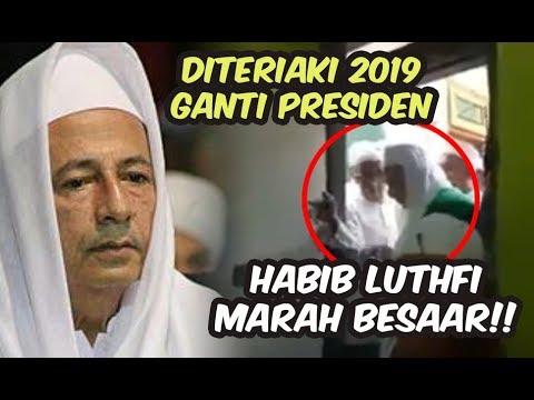 Diteriaki #2019GantiPresiden, Habib Luthfi MENG4-M0ekk!!!