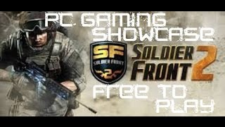 PC Gaming Showcase Soldier Front 2