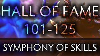 Dota 2 Symphony of Skills - Hall of Fame (Ep. 101-125)