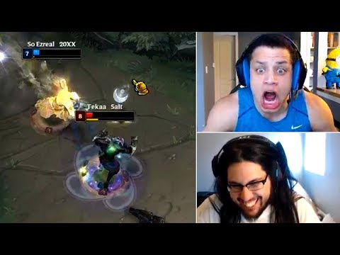 Imaqtpie Reacts Tyler1 Mental Breakdown | INSANE Lee Sin T1 Reaction | Trick2g | LoL Funny Moments