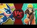 GRENINJA vs NARUTO! (Pokémon vs Naruto Shippuden) Cartoon Flght CIub CFC Bonus Episode 28
