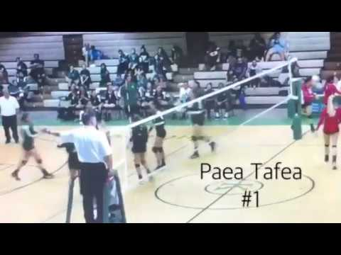 Paea Tafea VBall Highlights Vs. HPA