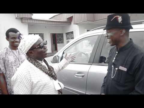 Sowore Visits Obong of Calabar