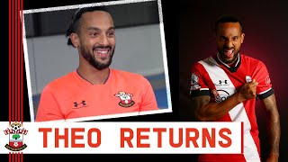 THEO WALCOTT | New signing on his return to Southampton