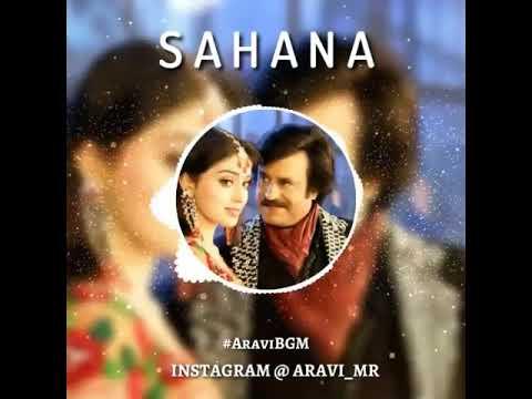Sahana Humming- Sivaji(2007) | Romantic scene | Rajinikanth