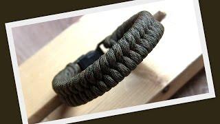 """Как сделать простой браслет из паракорда """"Fish Knot"""" \ How to make """"Fish knot"""" paracord bracelet"""