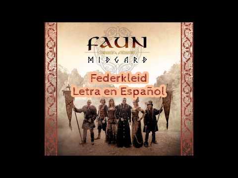 Faun - Federkleid Letra en Español